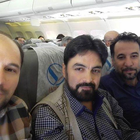 شهرام خزرایی بازیگر نقش کبیر در جوانی در سریال مارال