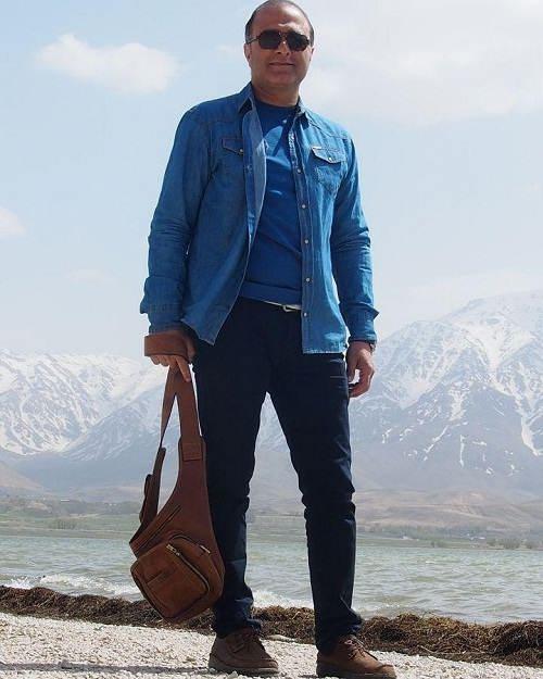 عکس آقای اکبری در آنام