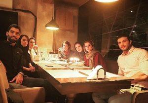 عکس تولد خواهر محمد موسوی