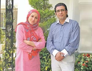 همسر رضا رشیدپور کیست؟ + بیوگرافی نغمه مهرپاک
