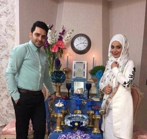 عکس صبا راد و همسر سابقش