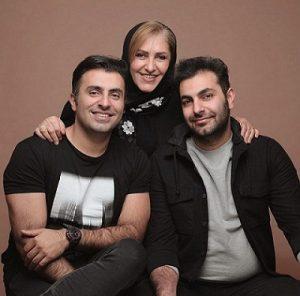 عکس علیرضا طلیسچی و خانواده اش