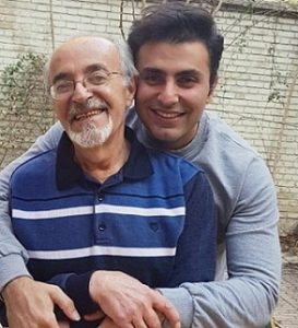 عکس علیرضا طلیسچی و پدرش