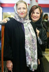 عکس لیلی رشیدی و مادرش احترام برومند