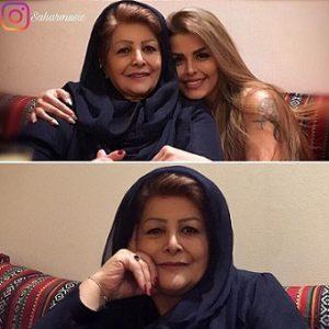 عکس مادر سحر خواننده