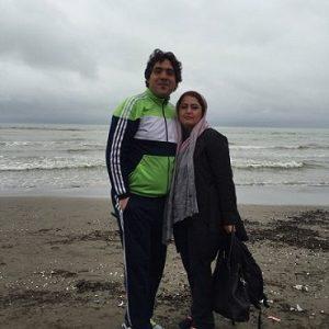 عکس همسر سابق مانی رهنما