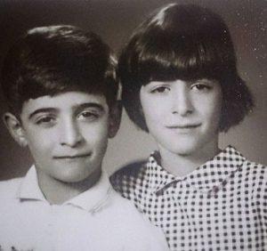 عکس همایون اسعدیان و خواهرش