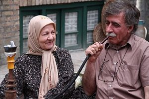 عکس همایون اسعدیان و مادرش