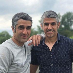 عکس پژمان جمشیدی و برادرش هومن