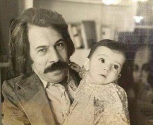 عکس کودکی لیلی رشیدی
