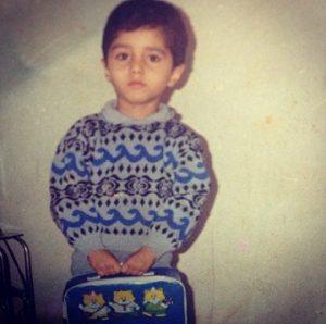 عکس کودکی محمد موسوی