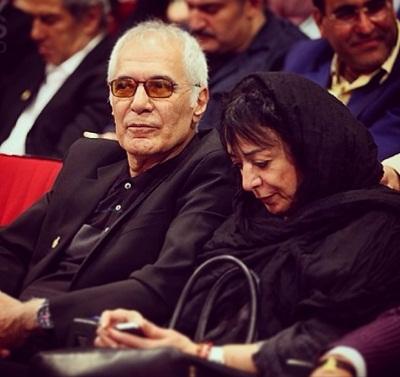 محمود کلاری و همسرش