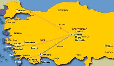 کاپادوکیا کجاست؟ + فاصله کاپادوکیا تا استانبول