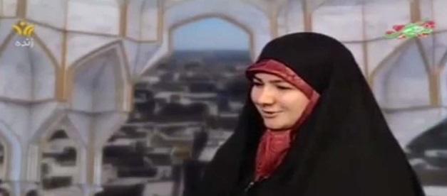 کلیپ کارشناس زن یزدی در تلویزیون در خصوص ماساژ پا همسر در تشت آب