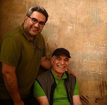 کوهیار کلاری و پدرش محمود کلاری