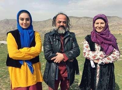 گلچهره سجادیه و مهشید جوادی در کلیبر سریال آنام