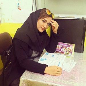 عکس مامک جمشیدی خواهر پژمان جمشیدی