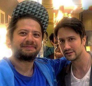 علی صادقی در گالری سنجاق