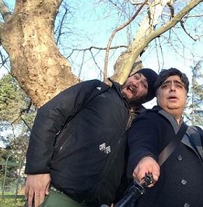 عکس بهادر وحشی و رضا شفی جم