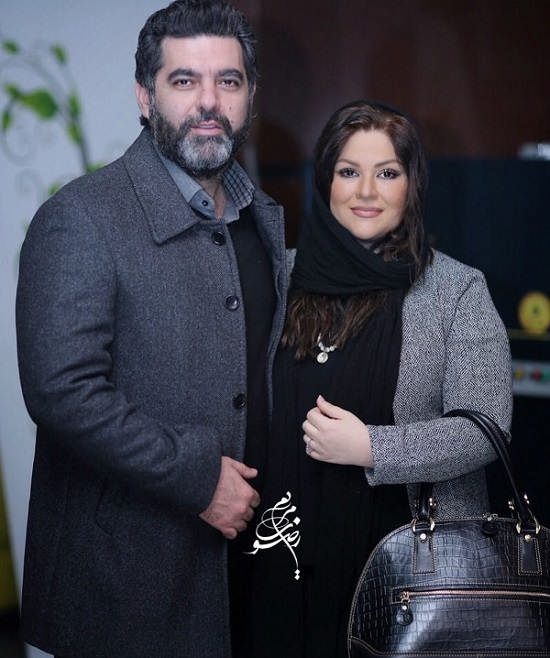 عکس مصطفی کیایی و همسرش