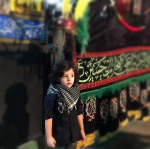 عکس پسر مصطفی کیایی - کارن