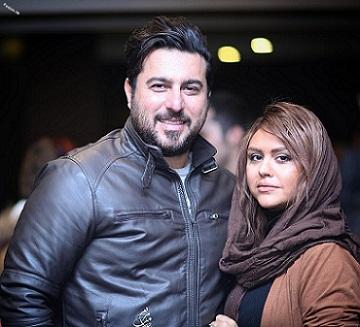 محسن کیایی و همسرش سهیلا امیرحسینی