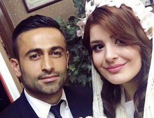 عکس همسر امید ابراهیمی