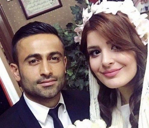 عکس های امید ابراهیمی و همسرش نگین شفیع زاده