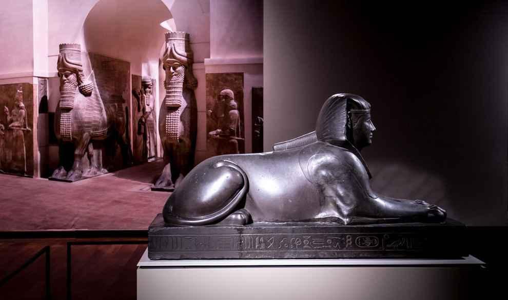تصاویر آثار موزه لوور در تهران ۴