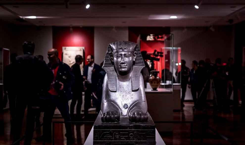 تصاویر آثار موزه لوور در تهران 6
