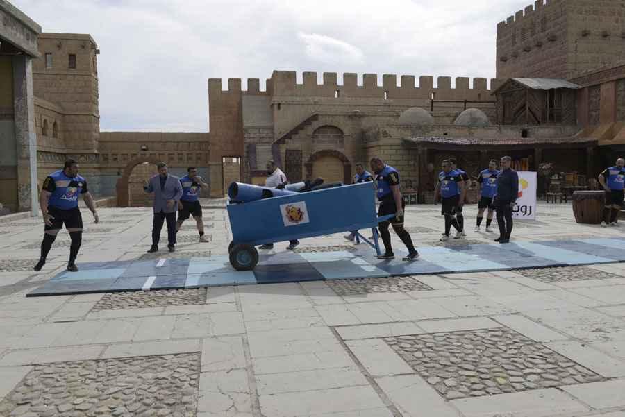 تصاویر مسابقه مردان آهنین ۲