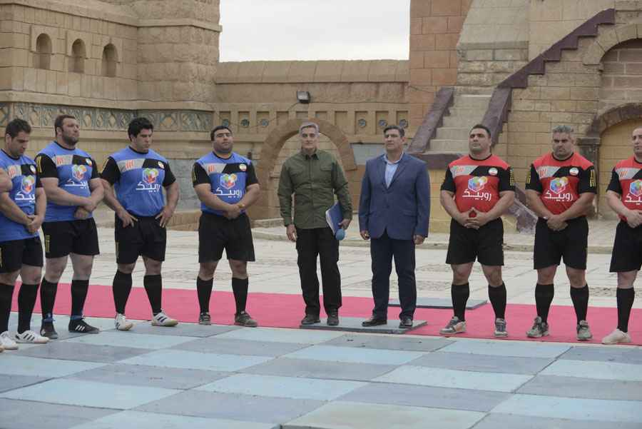 تصاویر مسابقه مردان آهنین ۵