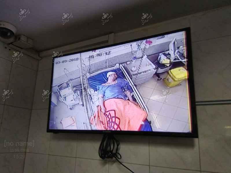 تصویر آخرین وضعیت فرامرز ورمقانی در بیمارستان