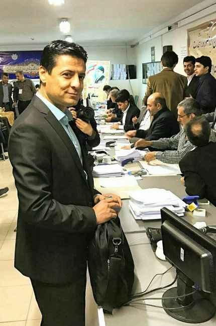ثبت نام علیرضا فغانی در شورای شهر تهران