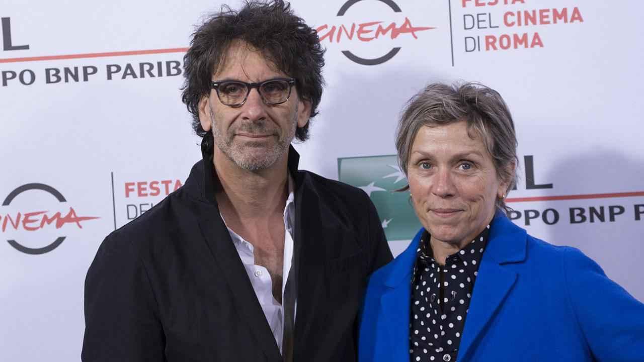فرانسیس مک دورمند و همسرش جوئل کوئن