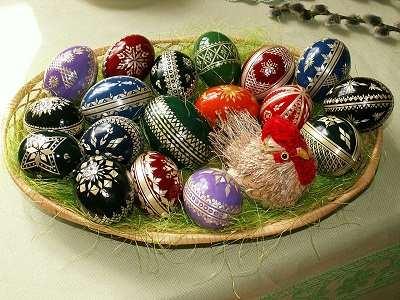 سبد تخم مرغ عید پاک