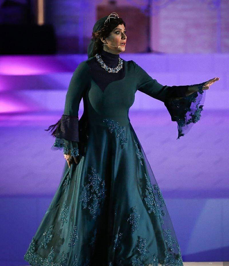 سحر دولتشاهی در کنسرت نمایش سی