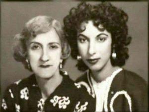 سیمین بهبهانی و مادرش