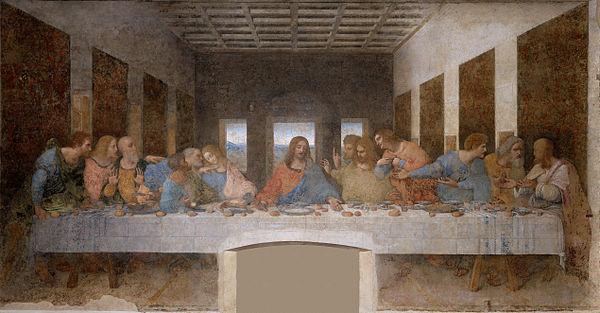 شام آخر اثر لئوناردو دا وینچی