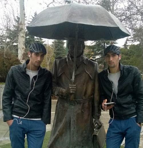 عکس رحمان و رحیم در سریال پایتخت