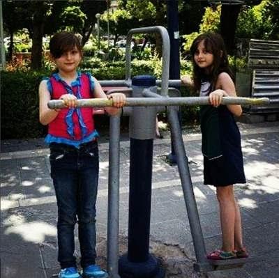 عکس سارا و نیکا در سریال پایتخت