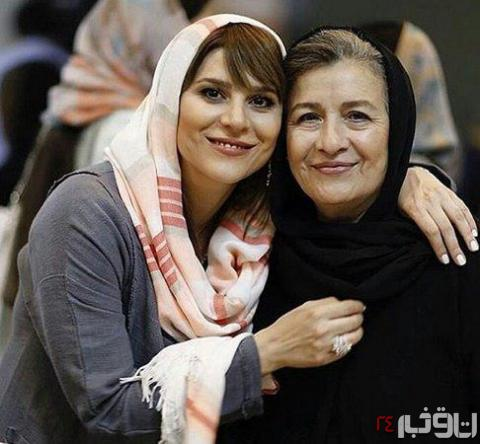 عکس سحر دولتشاهی و مادرش