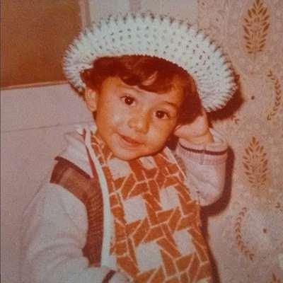 عکس سروش جمشیدی در کودکی