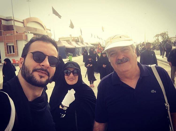 عکس محمد سلوکی و پدر و مادرش