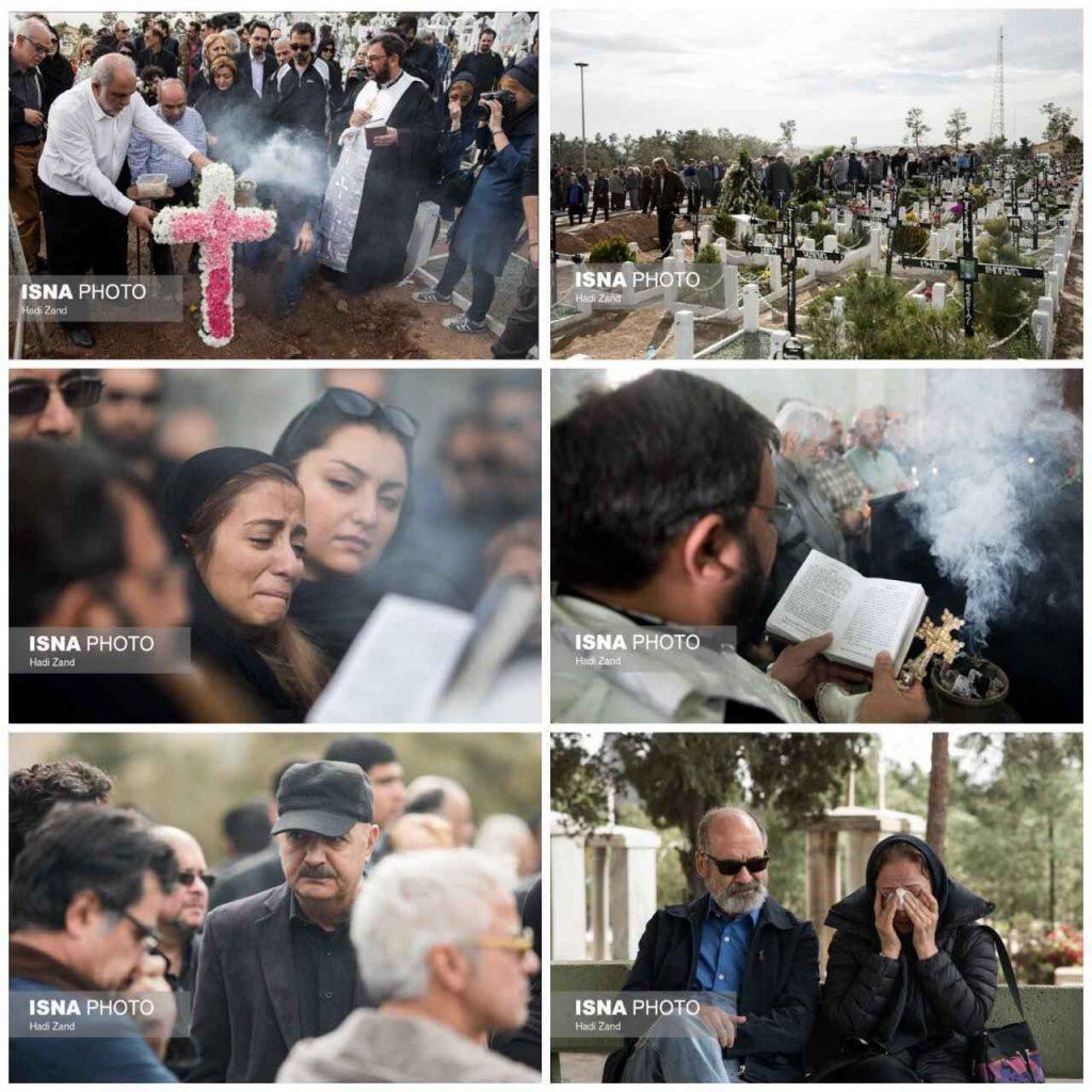 عکس مراسم خاکسپاری لووان هفتوان