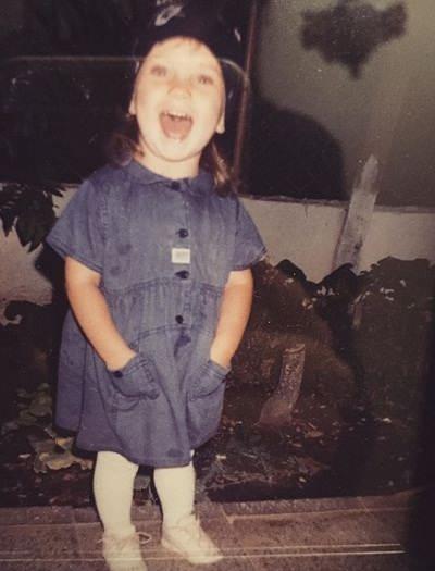 عکس های الیف جان اونورلار در ۳ سالگی