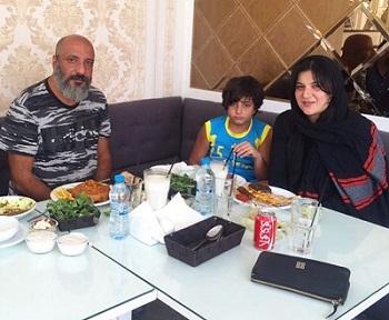 عکس های امیر جعفری و همسرش ریما رامین فر