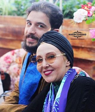 عکس هایپوریا رحیمیان پسر کتایون ریاحی