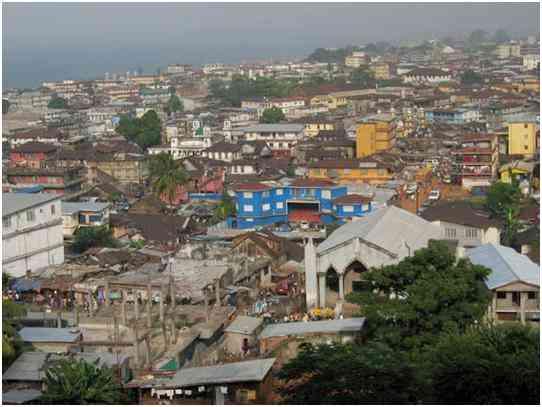 فری تاون پایتخت سیرالئون