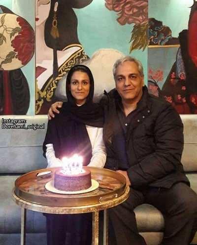 مهران مدیری و دخترش شهرزاد در روز تولد شهرزاد مدیری